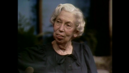 Authors: May 20, 1979 Eudora Welty Pt. 2