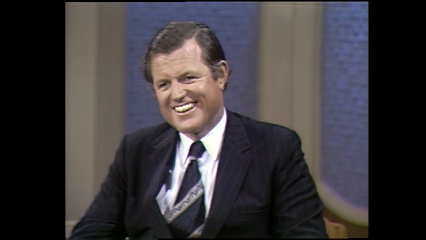 """Politicians: June 19, 1972 Edward """"Ted"""" Kennedy"""