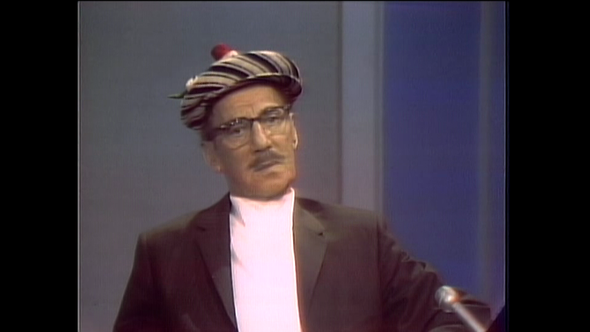 The Dick Cavett Show: Comic Legends - Groucho Marx (September 5, 1969)