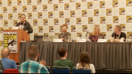 Backlot: S1 E11 - San Diego Comic-Con 2015: Shout! Factory Panel