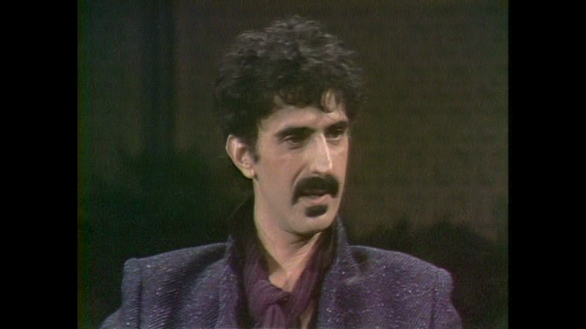 The Dick Cavett Show: Rock Icons - Frank Zappa (June 12, 1980)