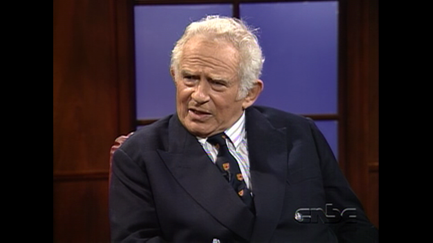 Authors Part 2: October 19, 1991 Norman Mailer Pt. 2