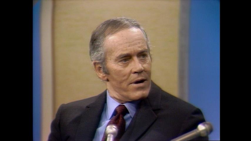 The Dick Cavett Show Award Winners: December 20, 1969 Henry Fonda