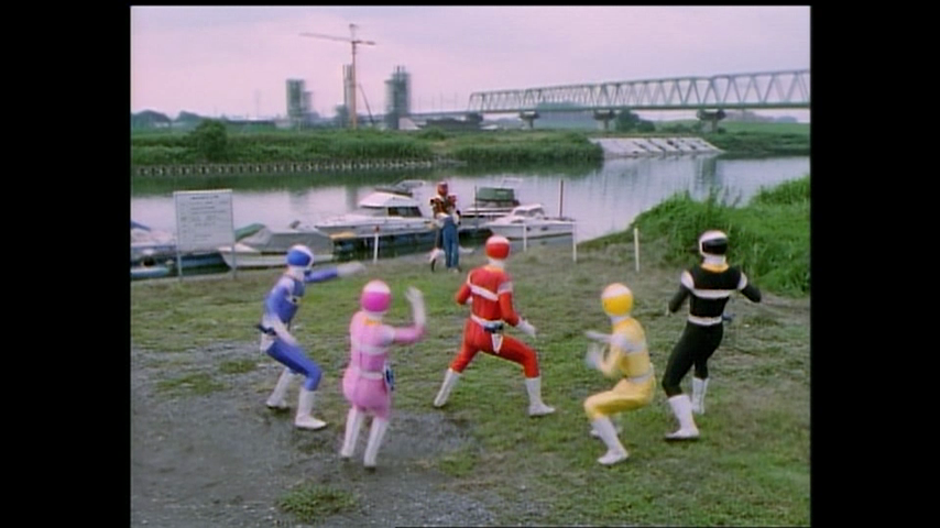 Denji Sentai Megaranger: Exposed! Mega Red's True Identity