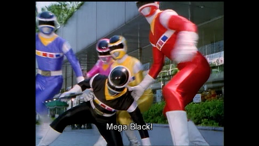 Denji Sentai Megaranger: Why! My Egg Is a Nezire Beast