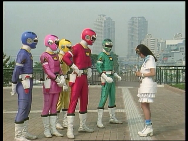 Gekisou Sentai Carranger: The Mysterious Intruding Girl!