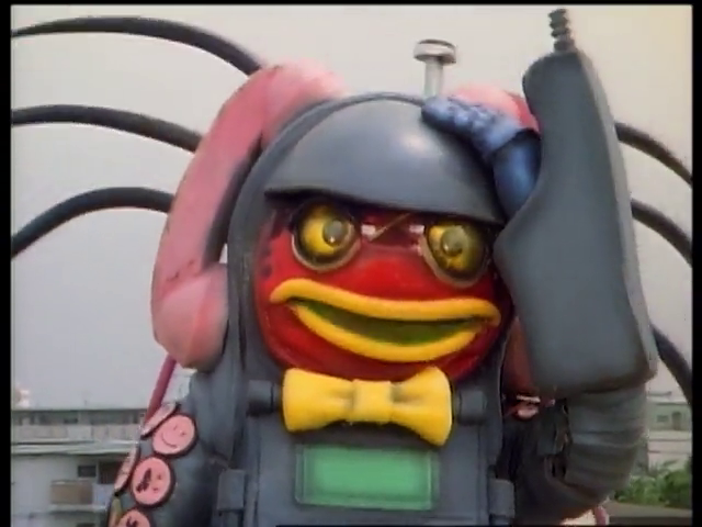 Gekisou Sentai Carranger: The Nonstop Home Delivery Weapon