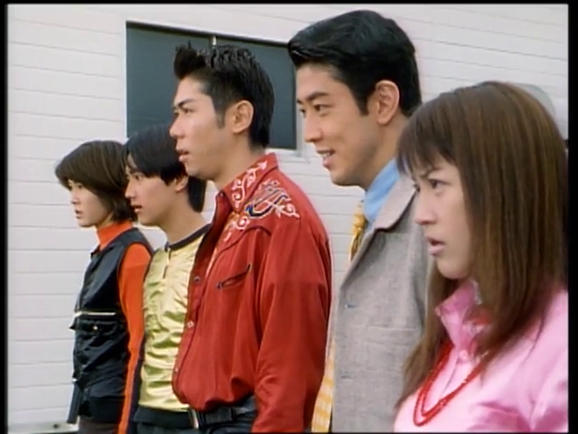 Gekisou Sentai Carranger: Hit And Break!? The Death-Defying Space Drive
