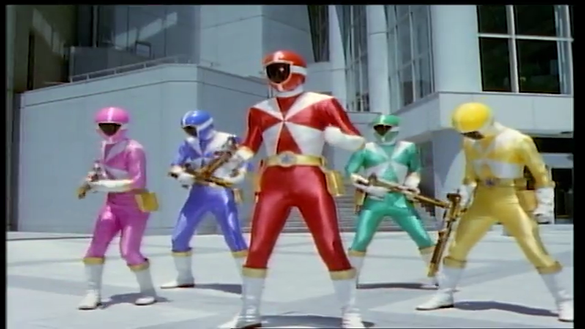 Kyuukyuu Sentai GoGoFive: Escape! The Dark Planet