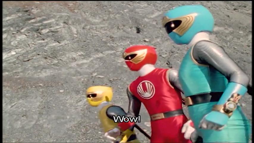 Ninpuu Sentai Hurricaneger: Scroll 8: Hayate And Ikazuchi