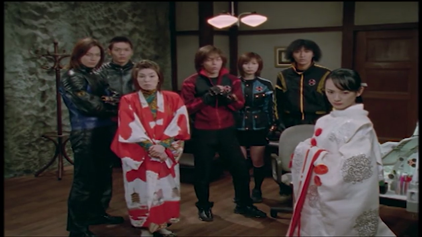 Ninpuu Sentai Hurricaneger: Scroll 47: Seal And Space Unification