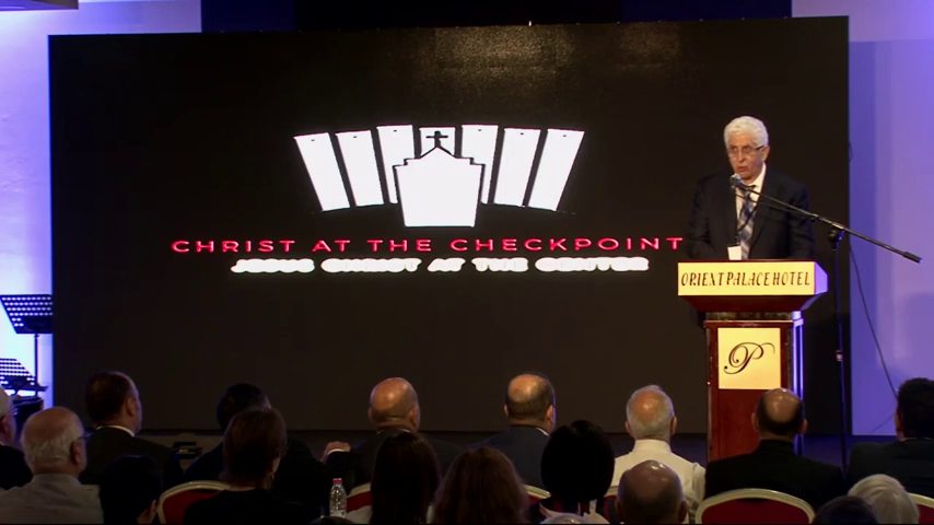 Christ at the Checkpoint Opening Session